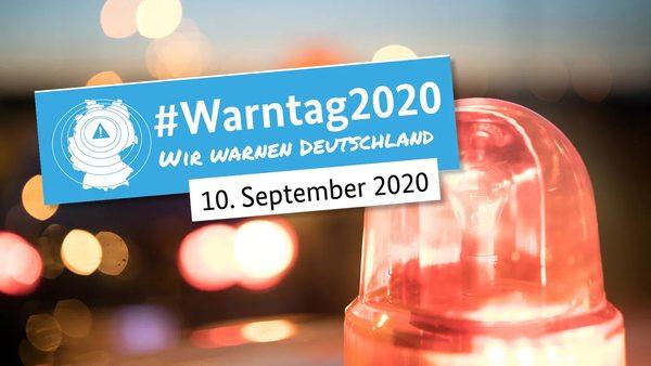 Warntag 2020: Was sie beim deutschlandweiten Probealarm beachten müssen