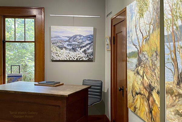 Island Time Summer 2020 with Contemporary Canadian Landscape Painter Terrill Welch   Terrill Welch Gallery   Artsy