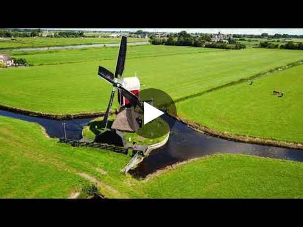 HOOGMADE - Dronebeelden Kalkmolen (video)