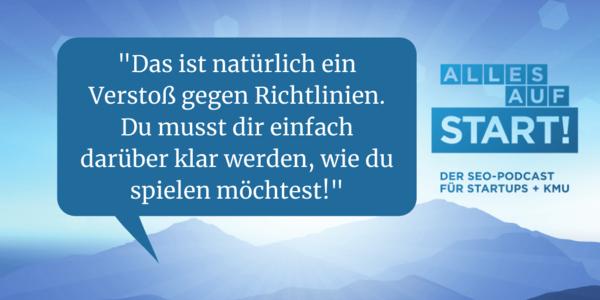 """Ramp-Up: SEO-Strategien für den Kampf """"David gegen Goliath"""" [Alles auf Start #19]"""