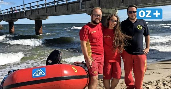Rügen: Rettungsschwimmer retten in Göhren zwei Männer vor dem Ertrinken