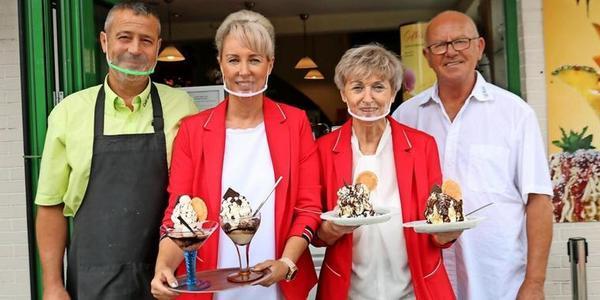 Welche Eisdiele ist die beste in MV? Abstimmen fürs Eiscafé Moritz in Koserow