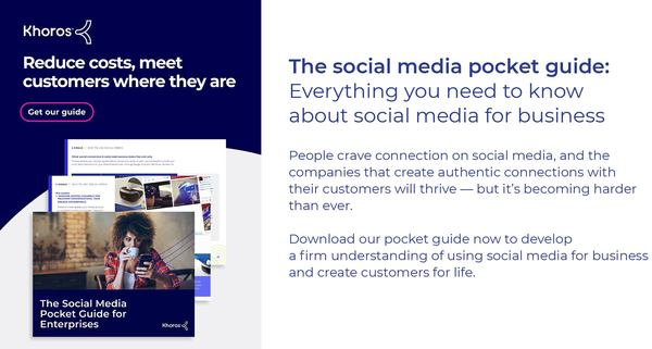 The social media pocket guide: Everything you need to know about social media for business
