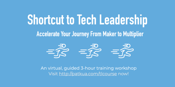 Level up your technical leadership skills on Sep 23, 2020 (click image above)
