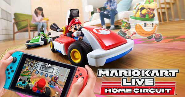 1️⃣ Mario Kart Live: Next level augmented reality in je woonkamer
