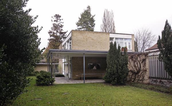 Die Stichweh-Villa von Gropius ist heute Sitz des Bundes Deutscher Architekten. (Foto: Meding)