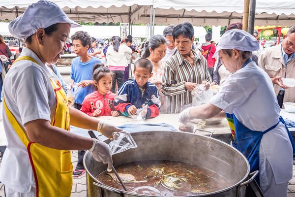 Vegetarisch festival in Thailand.