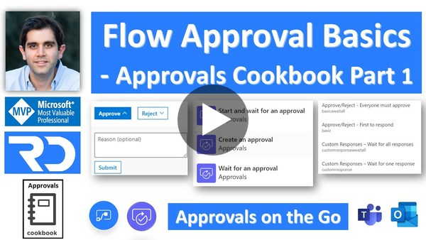 Power Automate Approval Workflow Basics