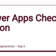 Power Apps Checker Action