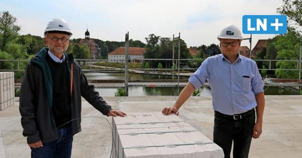 Eutin: Erster Stock des Inklusionshotels an der Stadtbucht steht schon