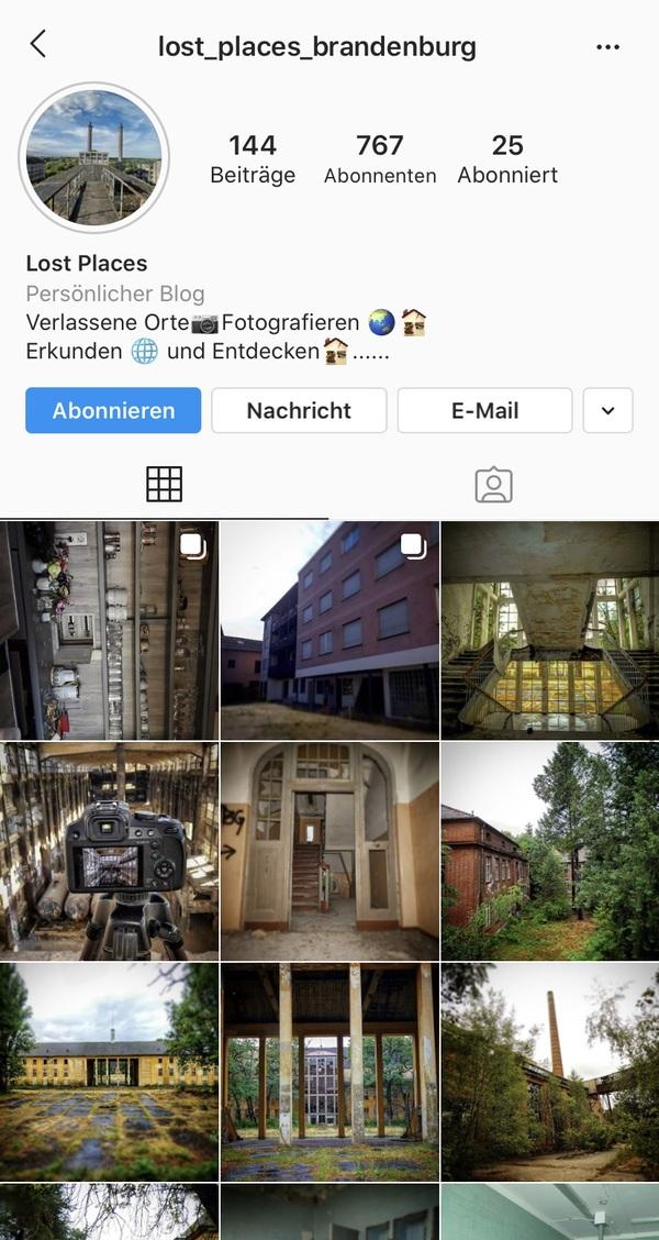 Klicken Sie auf das Foto, um zu Instagram zu gelangen.