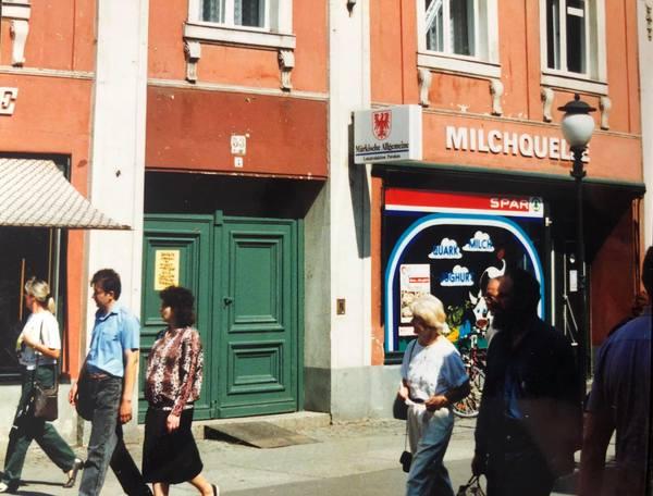 Die Brandenburger Straße 53 im Jahr 1991. Foto: privat