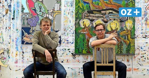 New York, London – Teterow: Wie die Schau des Pop-Art-Künstlers Moritz Götze nach MV kam