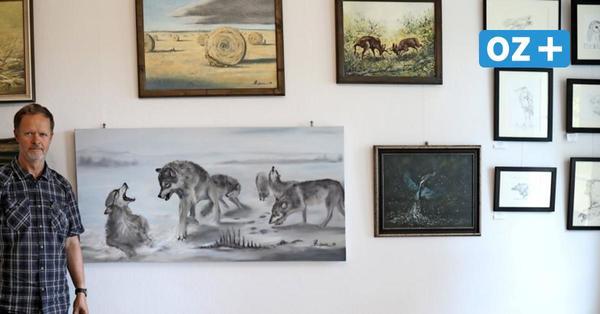 Genialwarenladen in Paetrow: Jetzt gibt's auch Kunst aus der Region