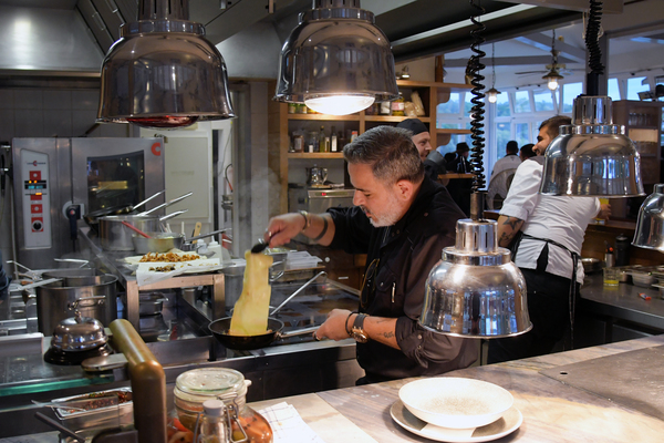 Ronen Dovrat Bloch ist neuer Chefkoch im Resort Schwielowsee. Foto: Bernd Gartenschläger