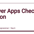 Power Apps Checker Action - DEV