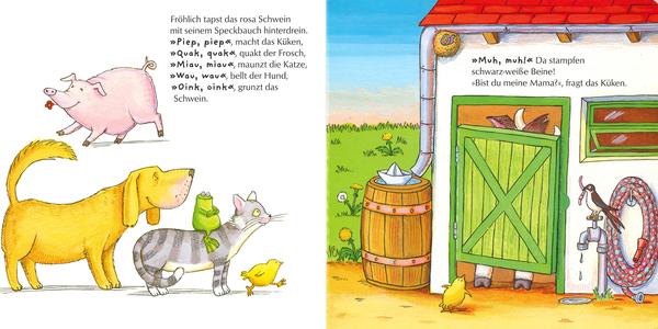 """Blick in """"Bist du meine Mama?"""", Verlagsgruppe Oetinger"""