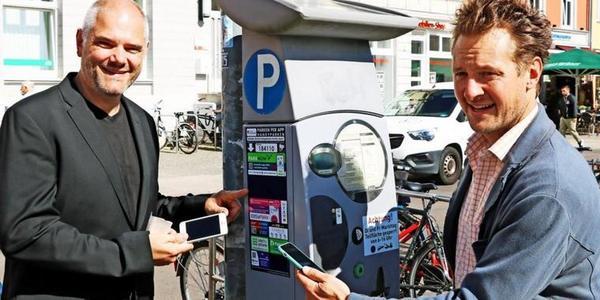 Stralsund: Parktickets können jetzt per Handy bezahlt werden – und Knöllchen auch