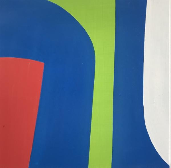 "Ellen Richman, ""282"", Acrylic on paper, 10"" x 10"""