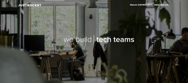 JUSTROCKET – we build tech teams