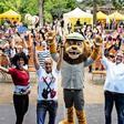 In Bildern: So war das K!DZ-Riesenkinderfest im Zoo Leipzig
