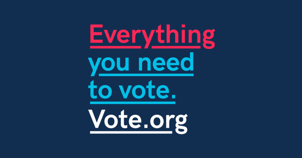 Everything You Need to Vote