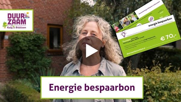 KAAG EN BRAASSEM - Wethouder Inge van der Meer vertelt over de energiebepaar-voucher (video)