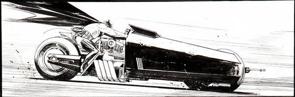 Sean Murphy - Batman Original Comic Art