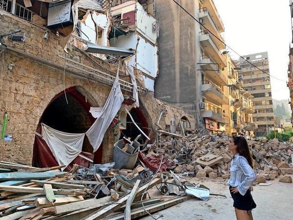 Nach Explosion: So hilft eine junge Greifswalderin den Menschen in Beirut