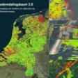 Een bodemdalingskaart van Nederland
