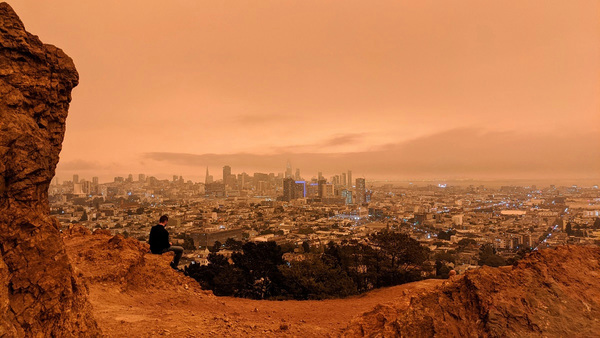 Why San Francisco had an apocalyptic orange sky