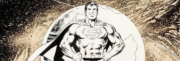 Dick Giordano - Superman Original Comic Art