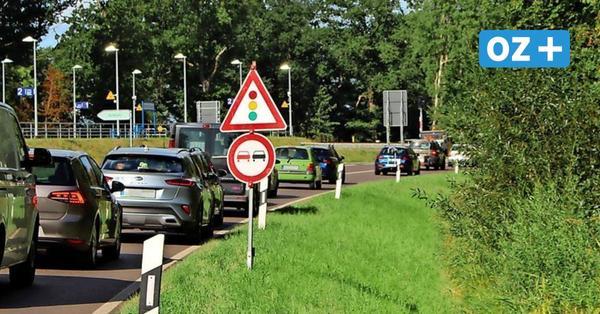 Baustellen-Stau auf Usedom: Touristiker zählen Straßenbauamt an