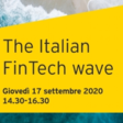The Italian Fintech Wave (September 17th, 2020 @ 2.30PM)