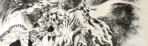Alan Davis - Excalibur Original Comic Art