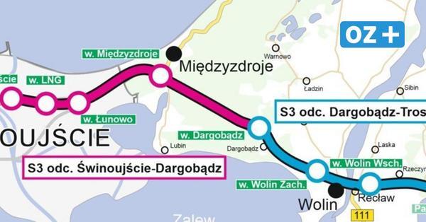 Swinemünde: Neue vierspurige Schnellstraße Richtung Stettin