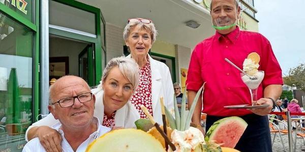 Gewonnen beim OZ-Eisdielentest: So reagiert das Eiscafé Moritz auf Usedom