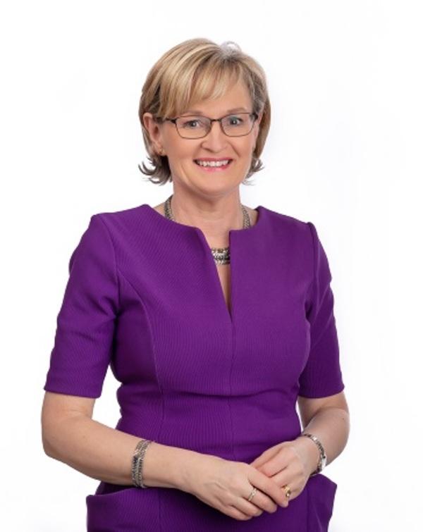 De nieuwe eurocommissaris Mairead McGuinness