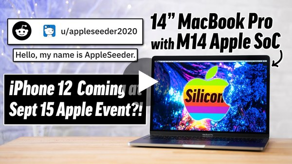 Apple Leaker on Reddit has MASSIVE Sept Event Surprises!