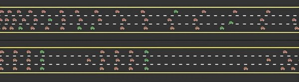 A small number of self-organizing autonomous vehicles significantly increases traffic flow