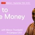 How to Raise Money from Investors - A Webinar with Marco Trombetti (September 15th, 2020 @ Noon)