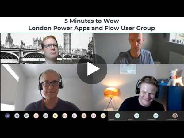 Power Apps 5 Minutes to Wow