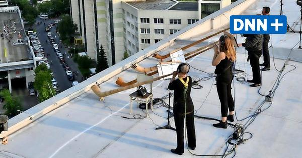 Hochhauskonzerte in Prohlis – Dresdner Sinfoniker steigen aufs Dach