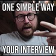 How do you get better at nailing leadership interviews?