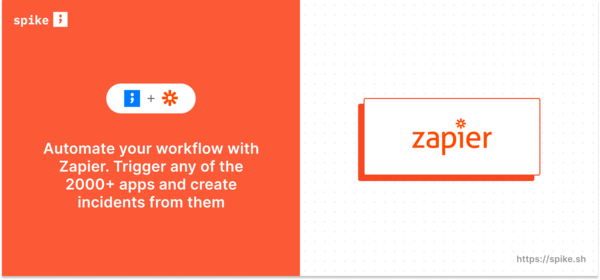 Automate automate automate with Zapier and Spike.sh