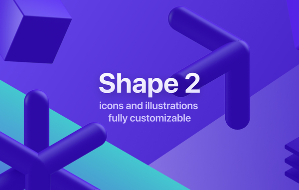 Shape 2 — Icons & Illustrations to SVG, Lottie, and React