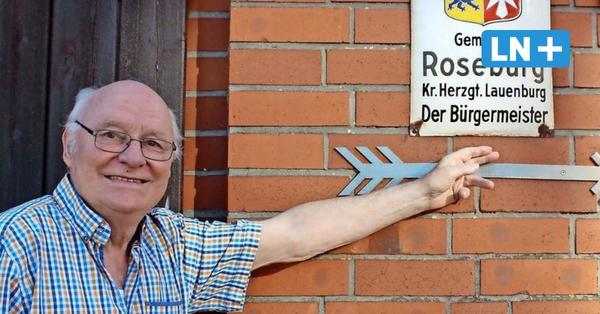 Otto Lübke aus Roseburg ist der älteste Bürgermeister im Kreis