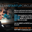 How do experienced entrepreneurs build their sales engine? Thu, Sep 10, 2020 at 1:00 PM