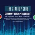 German-Italian Pitch Night | StarlightCapitalInc (September 29th, 2020 @ 6PM)
