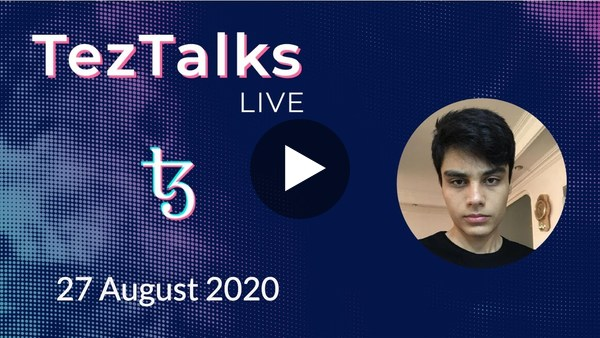 TezTalks Live #10 - Payzos with Matin Kaboli